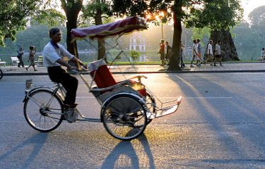 Discover Hanoi on a Cyclo